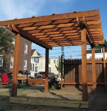 Large Brick Patio Design With 12 X 16 Cedar Pergola Outdoor by Designing A Pergola From The Ground Up Professional Deck Builder