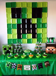 minecraft party minecraft birthday party ideas abc party ideas for