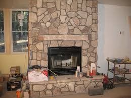 fireplace interesting stone fireplace for family room design