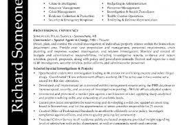 Sample Police Officer Resume by Skills Entry Level Resume Police Officer Reentrycorps