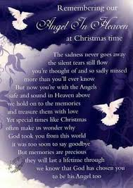 25 christmas heaven poem ideas table
