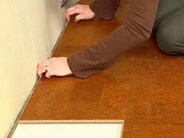 Cork Backed Vinyl Flooring Cork Flooring Transition Strips U2013 Meze Blog