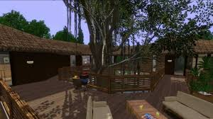 sims 3 house design the treehouse youtube