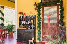 decorate front porch vintage and country holiday decor for a front porch hgtv