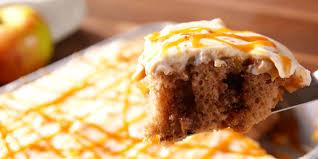 Halloween Poke Cake by Cooking Caramel Apple Poke Cake Video Caramel Apple Poke Cake