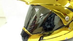 kawasaki motocross helmets masei 311 gold chrome atv arai shoei icon motocross helmet for ktm