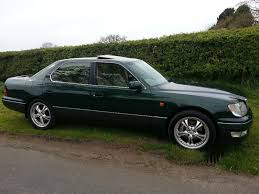 lexus ls400 mkiv 1998 dark green in congleton cheshire gumtree