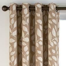 cindy crawford drapes cindy crawford style sonoma leaf print grommet top drapery panel