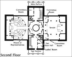 Capitol Building Floor Plan North Carolina State Capitol Visual 2