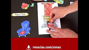kids diy christmas card idea free multilingual printable box