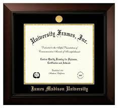 frames for diplomas jmu legacy diploma frame withgold medallion outpost