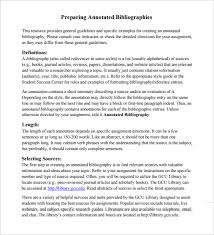 types of bibliography template pdf