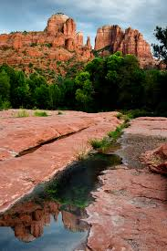 Cathedral Rock Reflections At Sunset Red Rock Crossing Cathedral Rock Tips For Sedona U0027s Best Photo Op Firefall Photography
