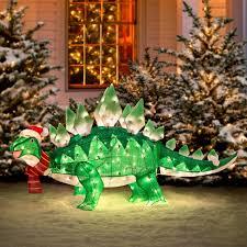 animated stegasaurus dinosaur decoration the green