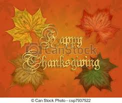 clip of happy thanksgiving graphic image and illustration
