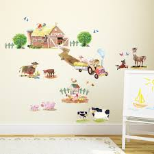 pony club and farm animals wall stickers pony club farm animals wall stickers