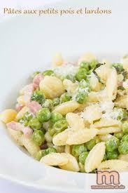 cuisine tv recettes italiennes pâtes aux petits pois et lardons de oliver macaronette et