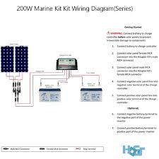 200 watt 12 volt monocrystalline solar marine kit hqst solar