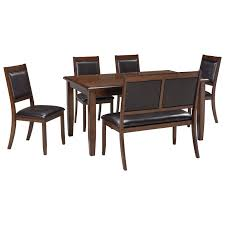 Bradford Dining Room Furniture Collection by Signature Design By Ashley Meredy 6 Piece Dining Room Table Set