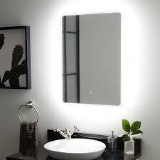 Lighted Mirrors For Bathrooms Winnberg Led Lighted Mirror Bathroom