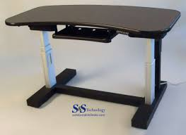 Adjustable Height Desk by 1 Table Electric Adjustable Height Desk S U0026s Technology