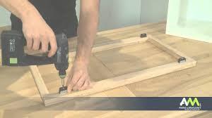 changer les portes des meubles de cuisine monter une façade de cuisine sur un meuble à cadre within