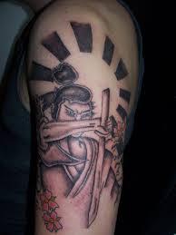 samurai half sleeve tattoo designs for men celtic half sleeve