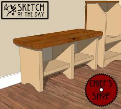 Bench With Shoe Storage Plans - entry bench with shoe storage plans storage decorations