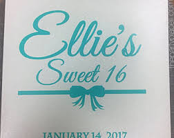 sweet 16 sign in book sweet 16 sign etsy