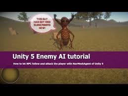 unity tutorial enemy ai unity 5 enemy ai tutorial jayanam gamedev tutorials