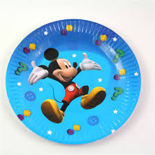 wedding party plates 10pcs mickey mouse paper plates birthday wedding party