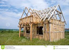 House Frame Wooden House Frame Royalty Free Stock Photo Image 5465035