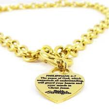 steel heart necklace images Stainless steel gold chain necklace heart necklaces jpg