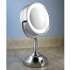 the natural daylight vanity mirror hammacher schlemmer