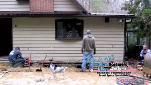 Basement Foundation Repair by Bowing Cracking And Sinking Foundation Repair In North Carolina