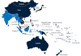 pacific region map international agency for the prevention of blindness