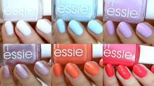 essie summer 2017 collection swatch u0026 review youtube