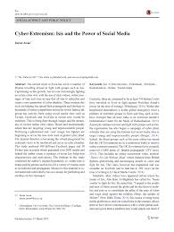 andr si ge social cyber extremism and the power of pdf available
