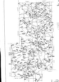 Map Of Missouri Counties Bollinger Co Cemeteries
