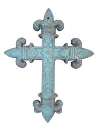 crosses wall decor cast iron crosses archives shoreline ornamental iron
