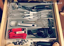 how to organise kitchen utensils drawer organizing your kitchen utensils come home for comfort