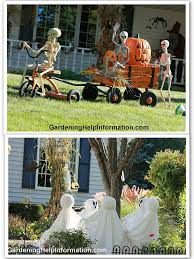 halloween front yard decorations landscaping design ideas pictures and decor inspiration page 10