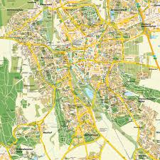 Map Com Stadtplan Hildesheim Niedersachsen Deutschland Karte Und
