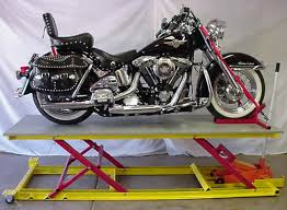 motorcycle lift table plans homemade moto table lifts adventure rider