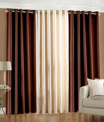 Coloured Curtains Winsome Inspiration Multi Coloured Curtains Homefab India Set Of 3
