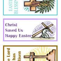 printable easter bookmarks to colour printable christian easter bookmarks freeprintable com easter