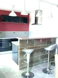 meuble bar pour cuisine ouverte bar cuisine ouverte lovely plan travail bar cuisine nos propositions