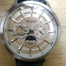 Jam Tangan Branded Alba jam tangan alba 40mm diameter faulty day s