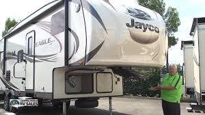 Jayco 5th Wheel Rv Floor Plans by 2016 Eagle Ht 26 5bhs 30 Foot 5th Wheel By Jayco Andy Kemi Youtube