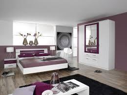 chambres a coucher pas cher chambre adulte complète contemporaine blanche décor mûre venise ii